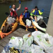 Coastal Cleanup on the Canal